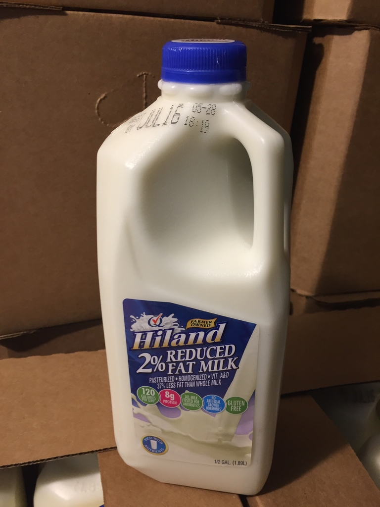 Half-gallon of Milk